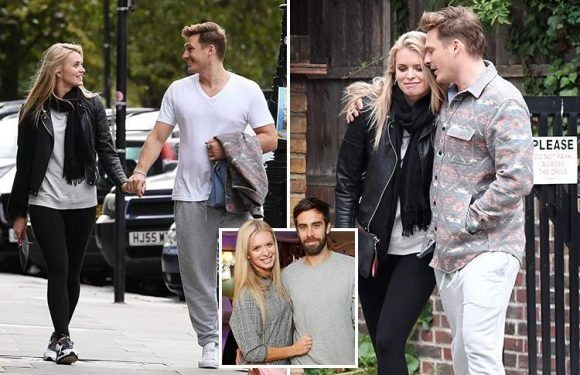 Blue singer Lee Ryan cosies up with dance pro Nadiya Bychkova after just one week of Strictly rehearsals