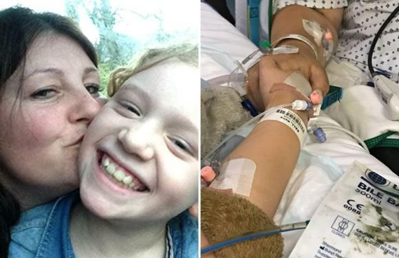 Mum shares heartbreaking photo holding dying daughter's hand in hospital just hours before she passed away from car crash injuries