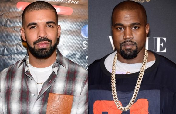Was Kanye West Set Off by Drake's Diss on New Track with Khloe Kardashian's Ex French Montana?
