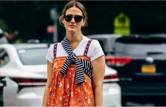 This Sweater Styling Hack Was All Over Fashion Week, So Now You're Set For Fall