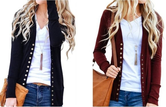 This $23 Cardigan Is Going Viral on Amazon