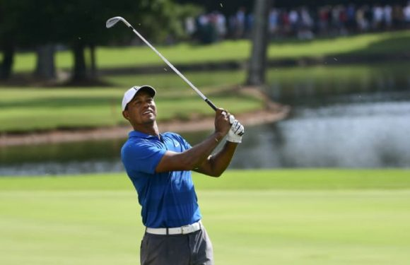 Tiger in pole position to end victory drought at Tour Championship