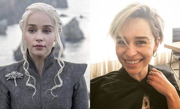 Emilia Clarke Chops Off Her Hair & Has Never Looked Less Like Daenerys: Love Or Loathe Her 'Brad' Cut?
