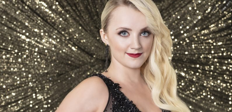 Evanna Lynch Shows Off Her Vegan Dance Shoes for 'DWTS'
