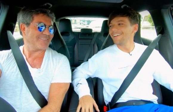 The X Factor judges sing along to One Direction and Dolly Parton as they car share to the auditions
