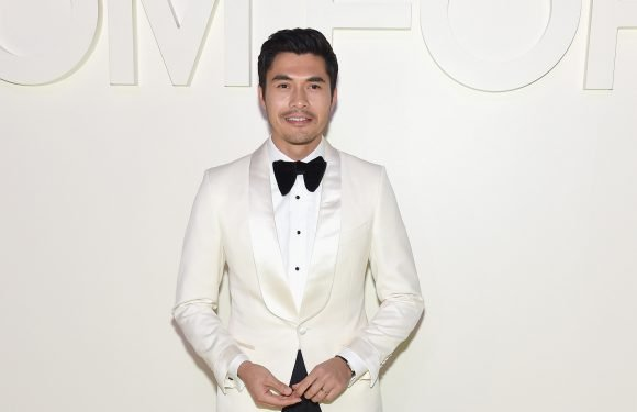 Henry Golding gave his mom a red-carpet blowout
