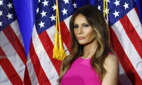 Melania Trump Is Not About that White House Drama