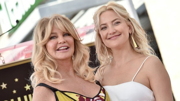 Goldie Hawn Compares Pregnant Kate Hudson's Vagina to a Huge Flower and It's … Something