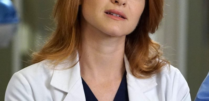 Sarah Drew Says Leaving Grey's Anatomy Was Like 'Attending My Own Funeral'