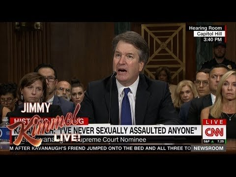 Late Night Weighs In On Brett Kavanaugh & Dr. Christine Blasey Ford