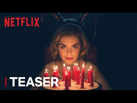 'Chilling Adventures Of Sabrina' Looks Scary AF — Watch The Creepy Teaser!