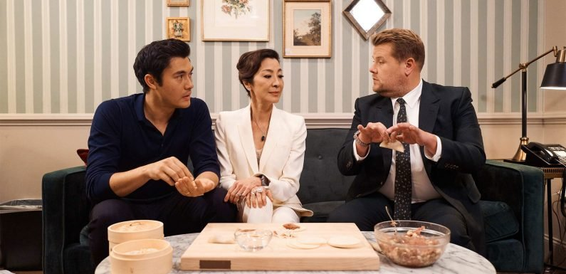 Henry Golding's Crazy Rich Asians Mom Doesn't Approve of James Corden in Hilarious Sketch