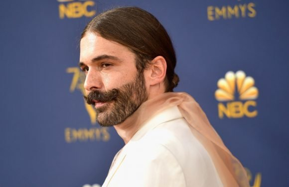 'Queer Eye' star Jonathan Van Ness wears see-through turtleneck to the Emmys