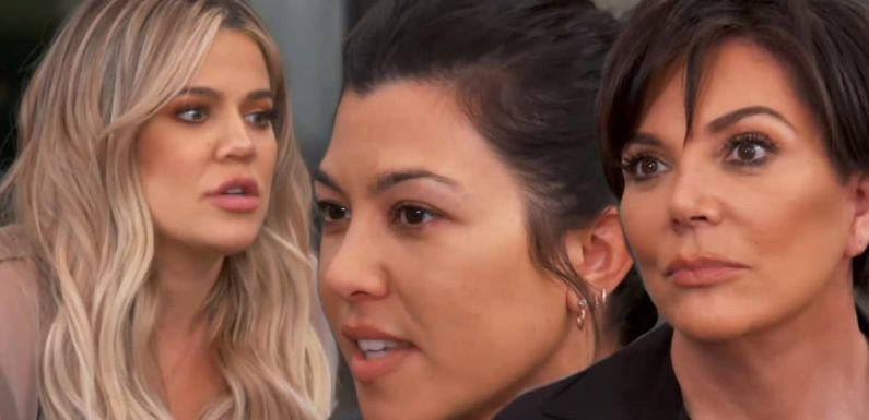 Kourtney Kardashian Throws Kris Jenner's Affair In Her Face on 'Keeping Up with the Kardashians' (Exclusive)