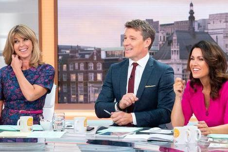 Kate Garraway drops MORE hints she's heading to the I'm A Celebrity jungle as Susanna Reid quizzes her live on GMB