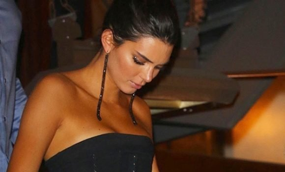 Kendall Jenner's Sexiest Sheer Looks: See-Through Bodysuit At NYFW & More