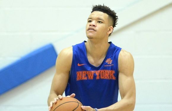 Kevin Knox is looking much different against real NBA players
