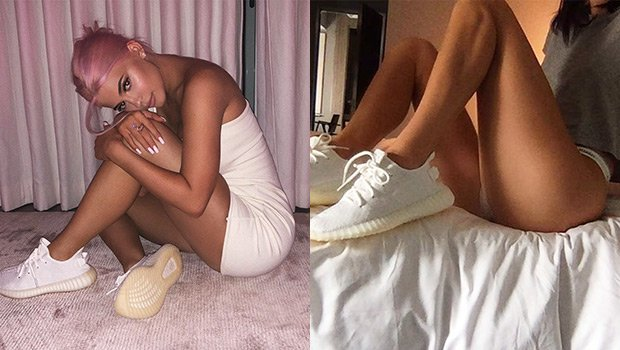 Kylie Jenner & Kendall Jenner Show Off New Yeezys In Skimpy, Sexy Outfits — Who Is Hotter?