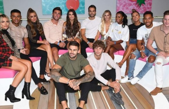 One Love Island couple are hitting back at claims that they've already split