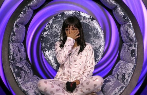 Roxanne Pallett breaks down in tears as she leaves the Celebrity Big Brother house