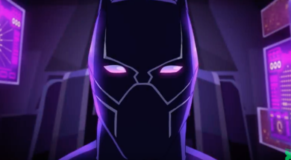 Marvel unveils action-packed first look at animated Black Panther series