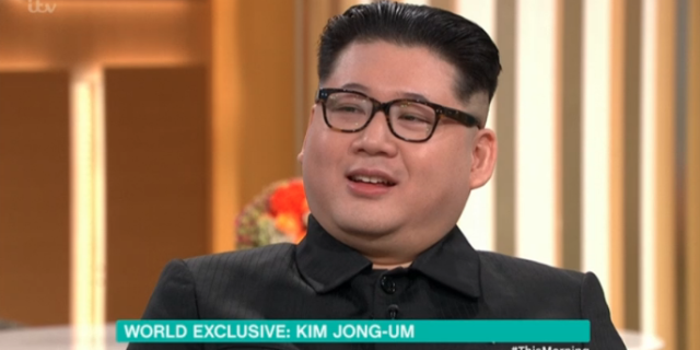 This Morning viewers fooled by thoroughly convincing Kim Jong-un impersonator