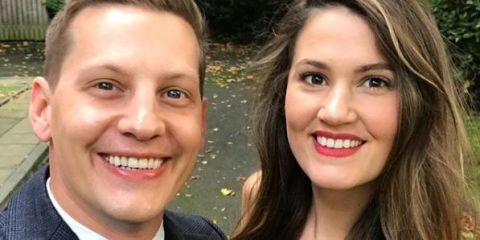 Former Hollyoaks star James Sutton is marrying his partner Rachael Collin this weekend