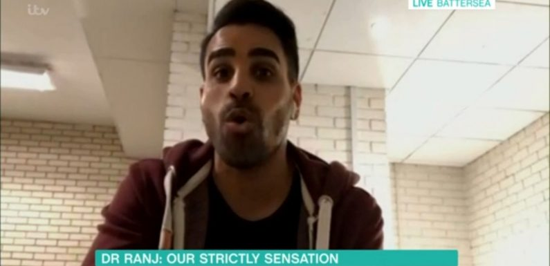 "This Morning's Dr Ranj Singh reacts to first Strictly Come Dancing weekend: ""I was over the moon!"""