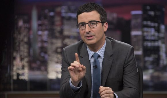 """John Oliver Translates Bob Woodward Book: """"The President's An Idiot And We're All Going To Die"""""""