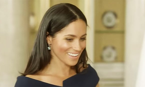 Meghan Markle Glows As She Inspects Her Wedding Gown In New Trailer For Doc About The Queen
