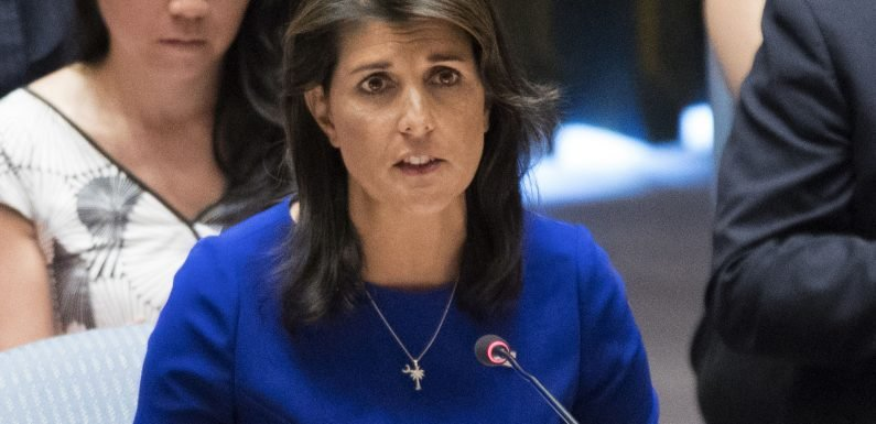 Nikki Haley spent over $52K in State Department money on curtains