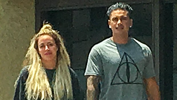 Pauly D Spotted With Mystery Blonde After Ex Aubrey O'Day Accuses Him Of Abuse