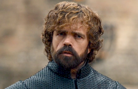Peter Dinklage Explains That Look Tyrion Gave When Jon and Dany Were Hooking Up on 'Game of Thrones'