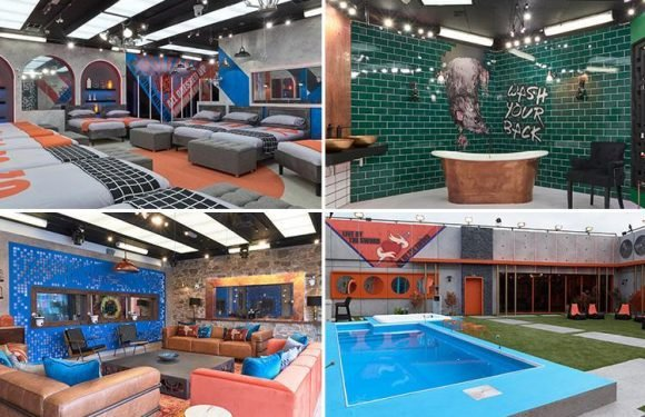 Inside the new Big Brother house with prison-style bedrooms, huge pool and rat artwork in the bathroom