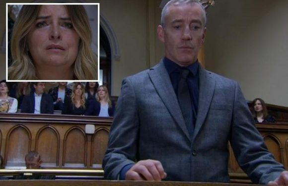 Emmerdale viewers in tears as Charity Dingle's rapist DI Bails is finally jailed for 30 years for the horrifying abuse