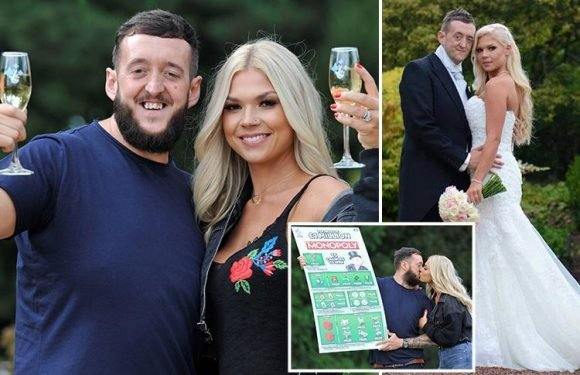 Man whose stunning girlfriend scooped him 'Punching Above Your Weight' gong now wins £1m scratchcard jackpot