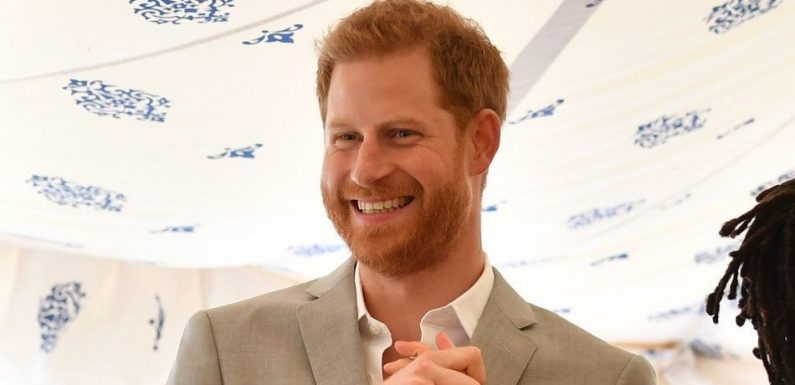 Prince Harry Caught Stealing Food At Meghan Markle's Cookbook Event