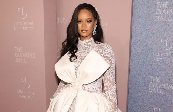 Rihanna sparkles in over 100 carats of diamonds at her Diamond Ball