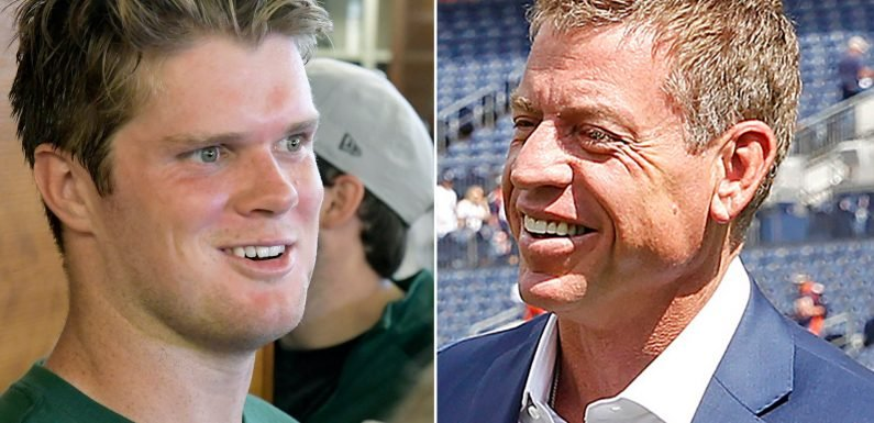 Troy Aikman: What Sam Darnold can learn from my brutal rookie year