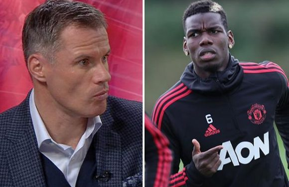 Jamie Carragher rips into Manchester United star Paul Pogba as he claims 'he isn't as good as he thinks he is'