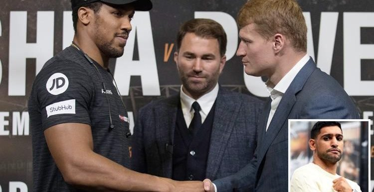Anthony Joshua vs Alexander Povetkin: Amir Khan 'can't see past AJ winning' but thinks Russian has that 'one punch in him that can change the fight'