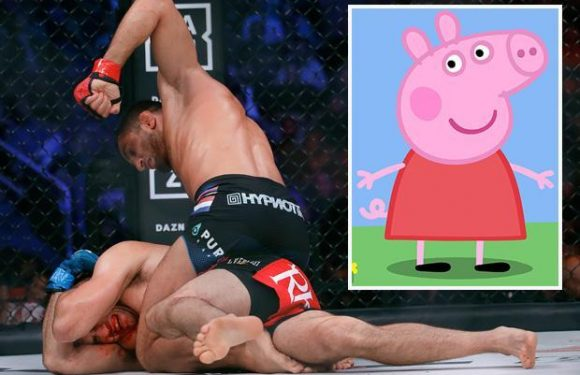 MMA fans furious as TV coverage of Bellator 206 main card switches to PEPPA PIG at 6am