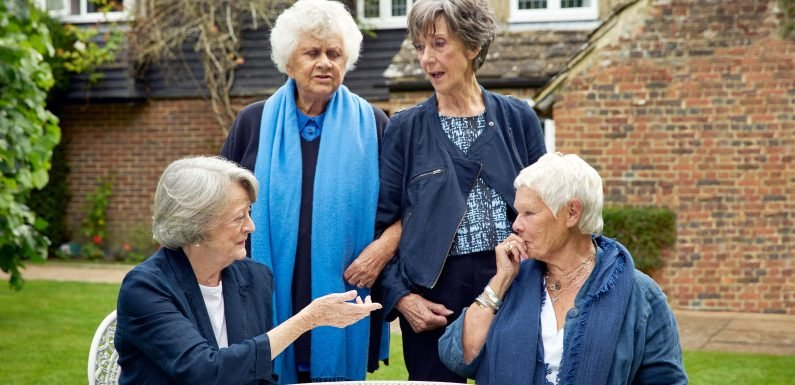 Spilling the Tea: For Dames Maggie, Judi, Eileen and Joan, No Subject Is Off Limits