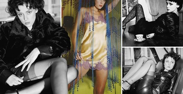 Bodyguard's Keeley Hawes smoulders in sexy suspenders in unearthed modelling pictures