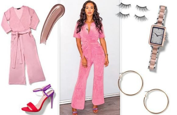 How to look like Radio One DJ Maya Jama who wows in a pink jumpsuit and heels
