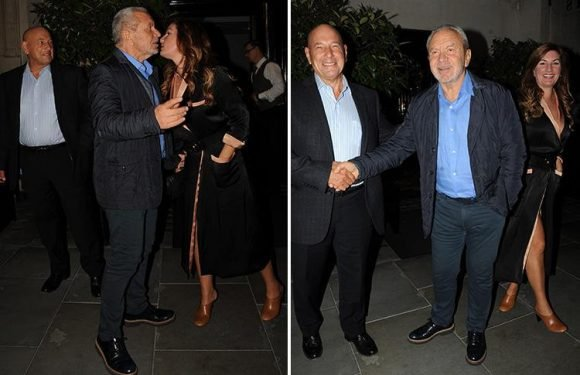 The Apprentice boss Alan Sugar takes Karren Brady and Claude Littner out to dinner days before new series kicks off