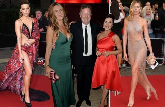 Kate Beckinsale and Abbey Clancy wow in nearly-naked gowns as stars party at GQ Men Of The Year Awards