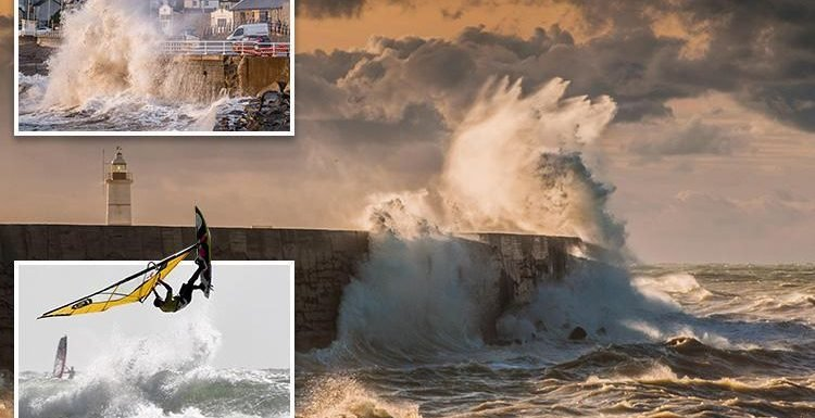 Brits set for more weather misery as tail-end of Storm Bronagh brings weekend washout and gales