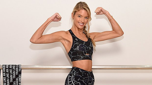 How to Get a Long, Lean Body Like A VS Model — Martha Hunt Reveals Her Fave Workout