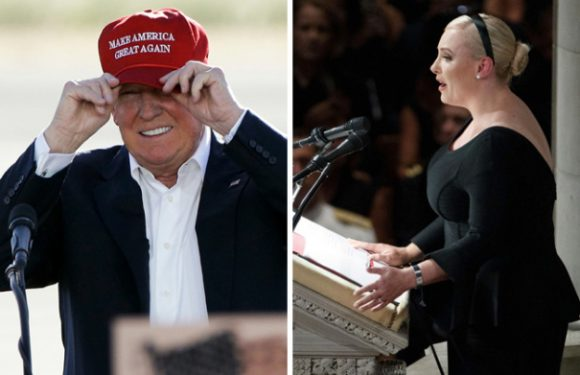 "Donald Trump's ""Great"" Reaction To Meghan McCain's Memorial Rebuke"